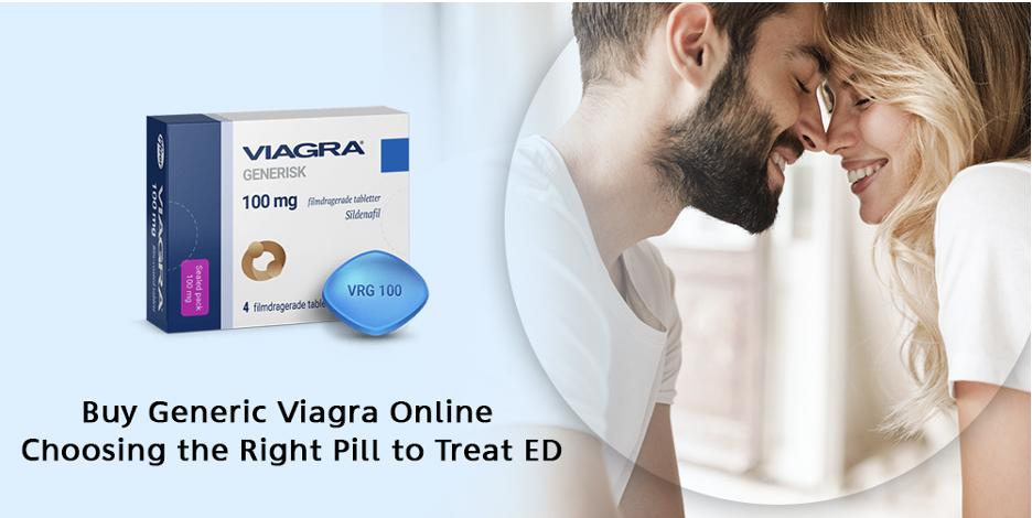 Buy Generic Viagra Online Choosing the Right Pill to Treat ED